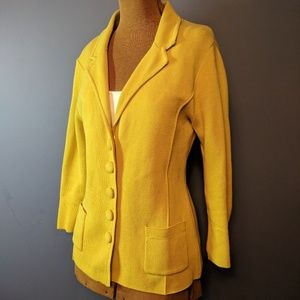 Audrey & Grace structured Blazer cardigan
